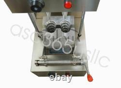 110v Pizza Cone Forming Make Machine Spiral Shape Rotational Oven Kitchen Food