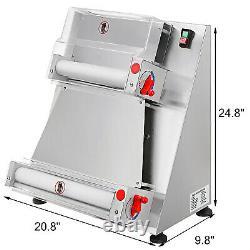 16inch 400mm Dough roller sheeter Pizza pasta pastry ravioli roti maker machine