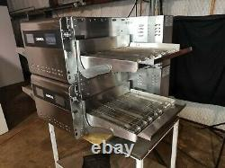 2017 Ovention S2000 Shuttle Dbl Stack Electric Conveyor Pizza Ovens. Video Demo