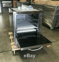 24 Commercial Pizza Oven Cooker Gas Portable Countertop Table Top Stainless