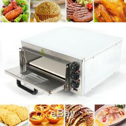 2KW Pizza Oven Home Kitchen Counter Top Snack Pan Bake Oven Commercial Grades US