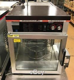 3-Tier Heated Pizza Merchandiser Warmer Hatco