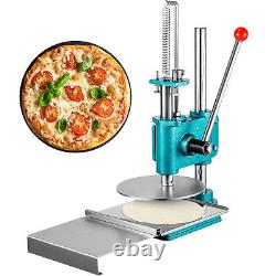 9.5 inch Manual Pastry Press Machine Commercial Dough Chapati Sheet Pizza Crust