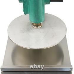 9.5 inch Pizza Dough Pastry Manual Press Machine Roller Sheeter Pasta Maker