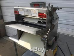 Acme MR11 Commercial Pizza Dough Roller Double Pass Counter-top Sheeter Machine