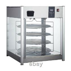 Adcraft HDRP-158 25 Full Service Countertop Pizza Display Warmer, 4 Shelves
