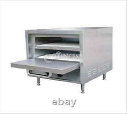 Adcraft Pizza Oven Commercial Hearth Bake Shelf Stackable Po-22