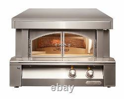 Alfresco 30 Countertop Gas Pizza Oven with Ceramic Infrared Hearth Burner