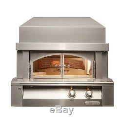 Alfresco 30-Inch Countertop Propane Outdoor Pizza Oven Plus