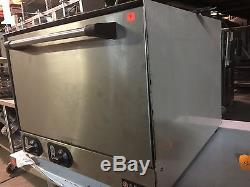 Anvil/Vollrath Countertop Pizza Oven with 2 Ceramic Brick Deck
