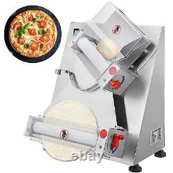 Automatic Pizza Dough Roller Sheeter machine for Pizza bread dough rolling 370W