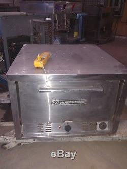 BAKERS PRIDE Double (2) Deck Counter-top Electric Commercial Pizza Oven