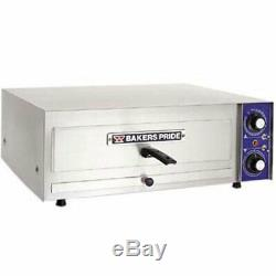 Bakers PX-16 Pizza Oven, Countertop, Electric, 17-5/8 L x 17-5/8 D x 3 High D