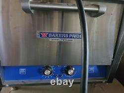 Bakers Pride Bk-18 Electric Countertop Pizza Deck Oven 120v 1 Phase