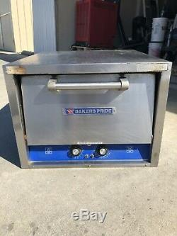 Bakers Pride Commercial Electric Countertop Pizza Oven Model P-18S