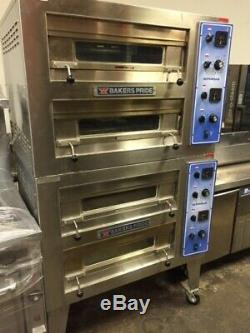 Bakers Pride EP-2-2828 Double Deck Countertop Electric Deck Oven (pizza Too)