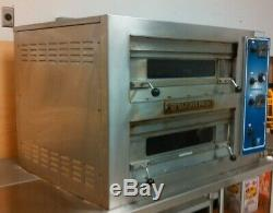 Bakers Pride EP-2-2828 Pizza oven Double deck MINI Counter top Electric EP22828