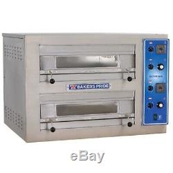 Bakers Pride EP-2 Double Deck Countertop Electric Pizza Deck Oven