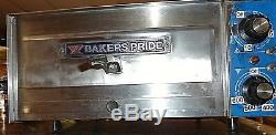 Bakers Pride Electric Countertop Pizza Oven PX-14 with owners manual