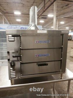 Bakers Pride GP-51 32.5 Gas Countertop Pizza Oven