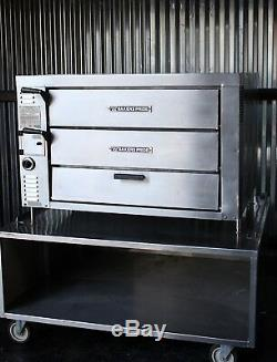 Bakers Pride GP61 Countertop Gas Double Deck Pizza Ovens GP-61 HearthBake Series