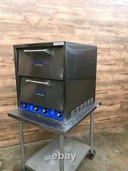 Bakers Pride P-44 Countertop Pizza/Pretzel Oven, 4-Decks, 208 V Phase 1