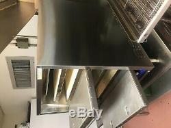 Bakers Pride P-44S Double Stone Deck Pizza & Pretzel Oven Countertop Electric