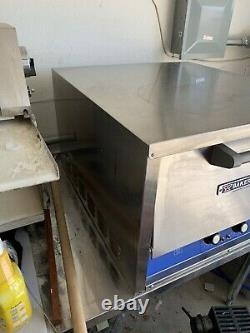Bakers Pride P22S electric countertop pizza and pretzel 2 ceramic BL decks
