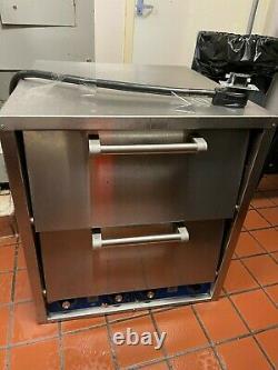 Bakers Pride P46 Countertop Pizza/Pretzel Oven Double Deck