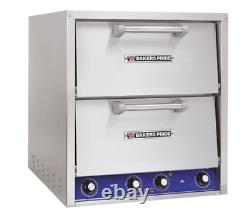 Bakers Pride P46S Countertop Pizza Oven Double Deck 208V 3 Phase with WARRANTY