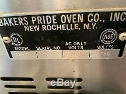 Bakers Pride P46S Double Electric Hearth Deck Countertop Pizza Pretzel Oven