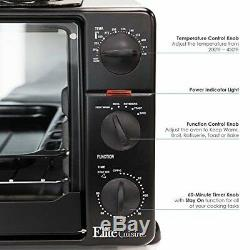 Best Toaster Oven Grill Griddle Rotisserie Small Portable Countertop Pizza Toast
