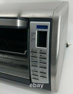 Black Decker Convection Countertop 12 Pizza Bake Broil Toaster Oven