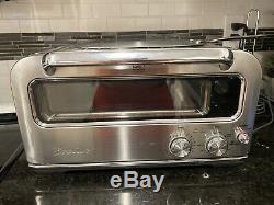 Breville BPZ820BSS The Smart Pizzaiolo Countertop Pizza Oven, 120V, 1800W