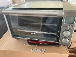 Breville Smart Oven Stainless Steel Lightly Used 4 Toast 12 pizza 8 settings