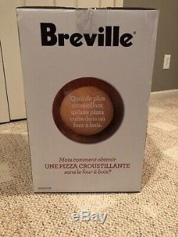 Breville The Crispy Crust BPZ600CRN 12 Stone Counter Top Pizza Oven Red