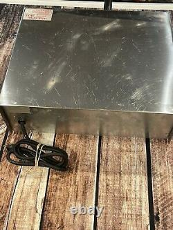 COMMERCIAL NOVA N-100 COUNTER TOP Electric Stainless Steel PIZZA OVEN 1600 WATT