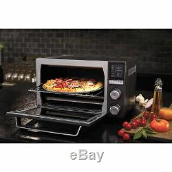 Calphalon Quartz Heat Countertop Oven, Can Fit 12 Pizza, Model TSCLTRG1BKR035