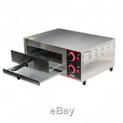 Commercial 20 Countertop Electric Pizza Oven 120V, 1500W ETL