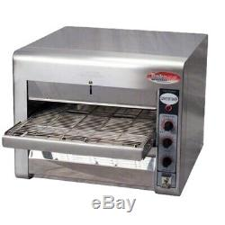 Commercial Countertop Conveyor Baker Pizza Oven for 14 Pizza