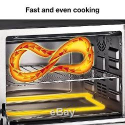 Commercial Electric Convection Oven Cooking Food Toaster Pizza Countertop 1800 W