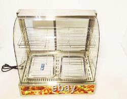 Commercial Electric Food Display Case Warmer Case for Pizza Dessert Food Display