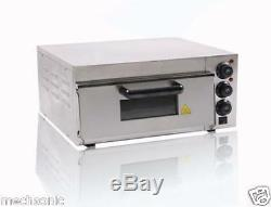 Commercial Electric Pizza Oven With Timer for Making Bread, Cake, Pizza 220V S