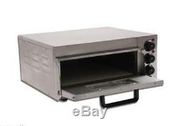 Commercial Electric Pizza Oven With Timer for Making Bread, Cake, Pizza 220V T