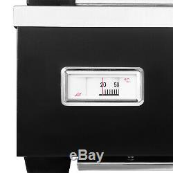 Commercial Food Pizza Heated Display Warmer Cabinet Case Restaurant 26x26x20