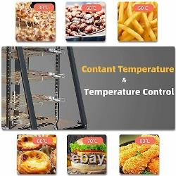 Commercial Food Pizza Warmer Countertop Cabinet Heater Display Warmer Case