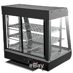 Commercial Food Warmer Bain Maire Heat Food pizza Display Warmer Cabinet 15In