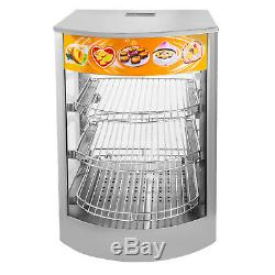 Commercial Food Warmer Pizza Warmer 26-Inch Pastry Warmer with Magnetic Door