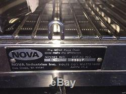Commercial NOVA Pizza Oven Model N-100 Made in USA 1600 Watts Perfect & Clean