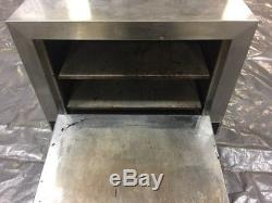 Commercial Pizza Oven Nemco 6205-240 Counter Top Double 19 Stone Deck 240v